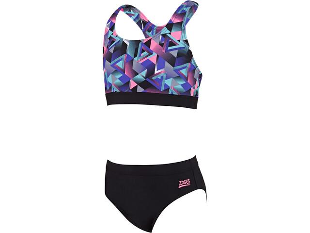 Zoggs Kitch Chaos Muscleback Lapset bikinit  238b0ee80f